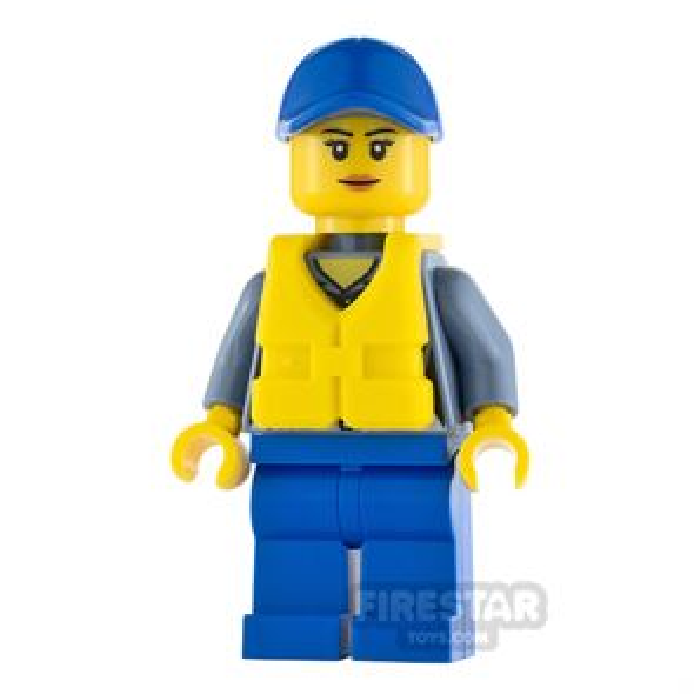 LEGO City Minifigure City Coast Guard Life Jacket