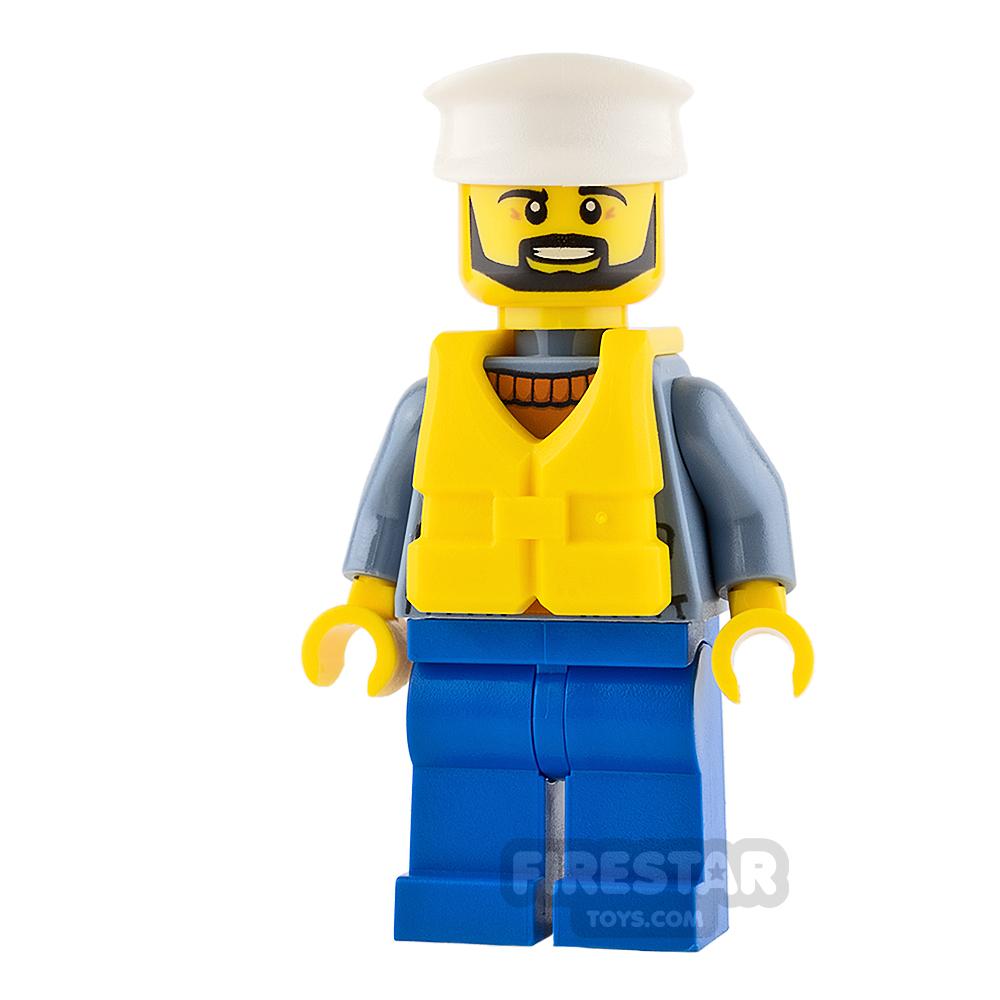 LEGO City Mini Figure - City Coast Guard - Ship Captain