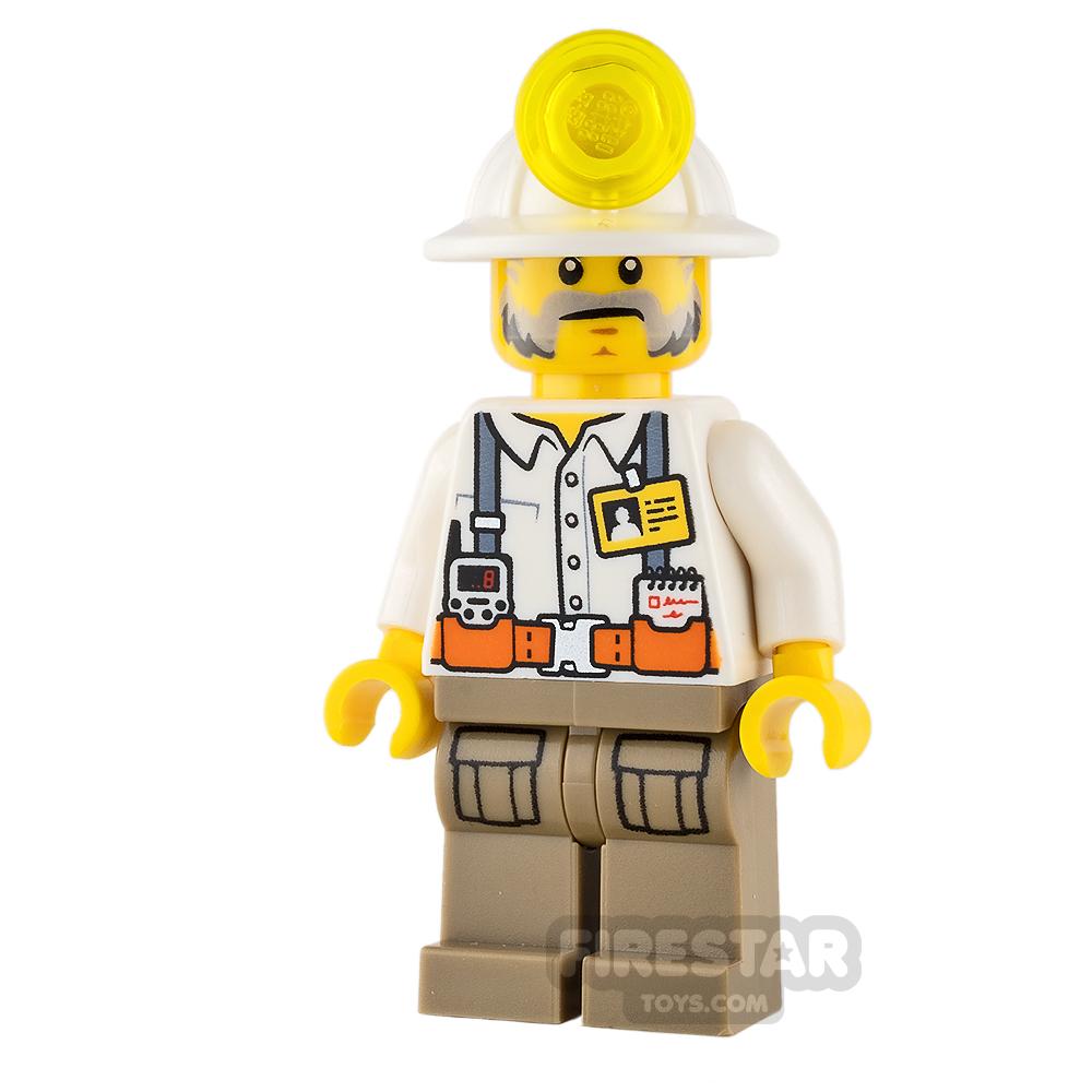 LEGO City Minifigure Miner Foreman