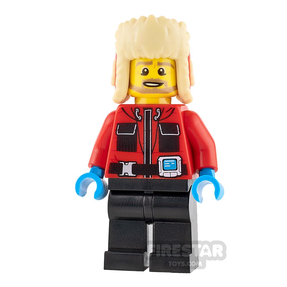 LEGO City Mini Figure - Arctic Explorer - Red Jacket