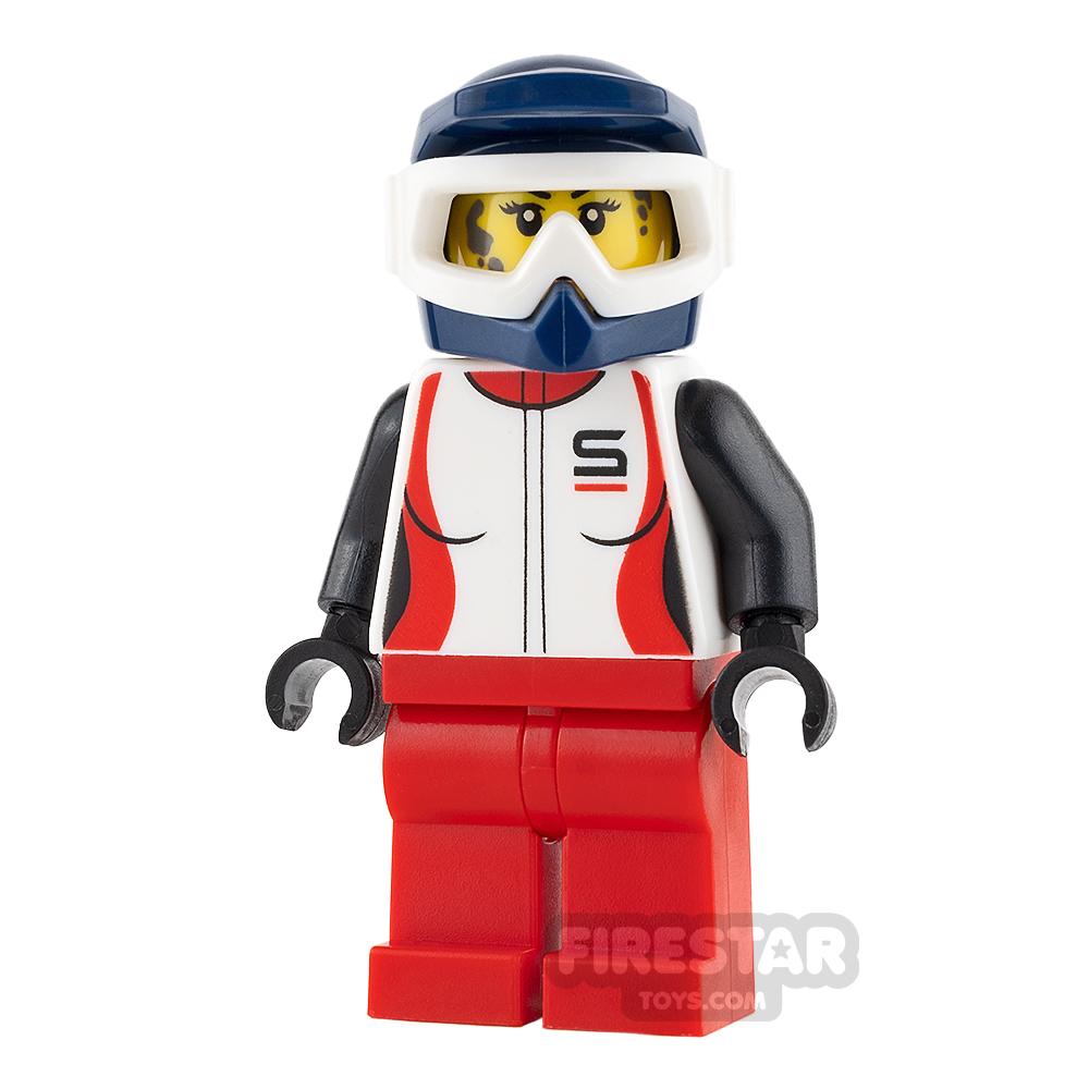 LEGO City Mini Figure - Female Mountain Biker
