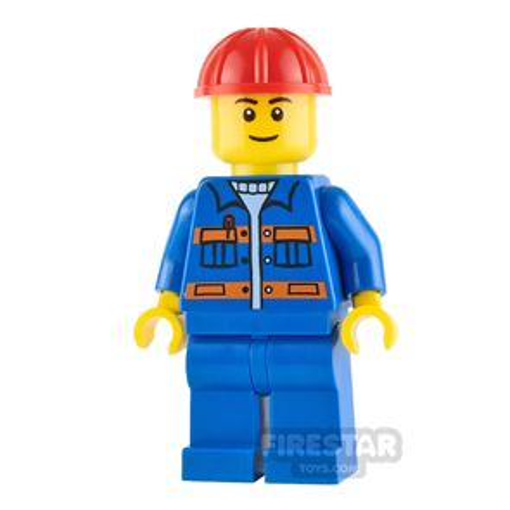 LEGO City Minifigure Red Construction Helmet
