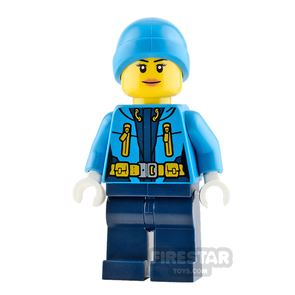 Lego City Minifigure Arctic Explorer Female