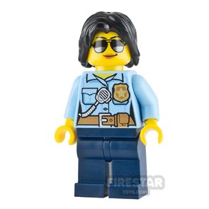 LEGO City Minifigure Female Officer with Sungalsses