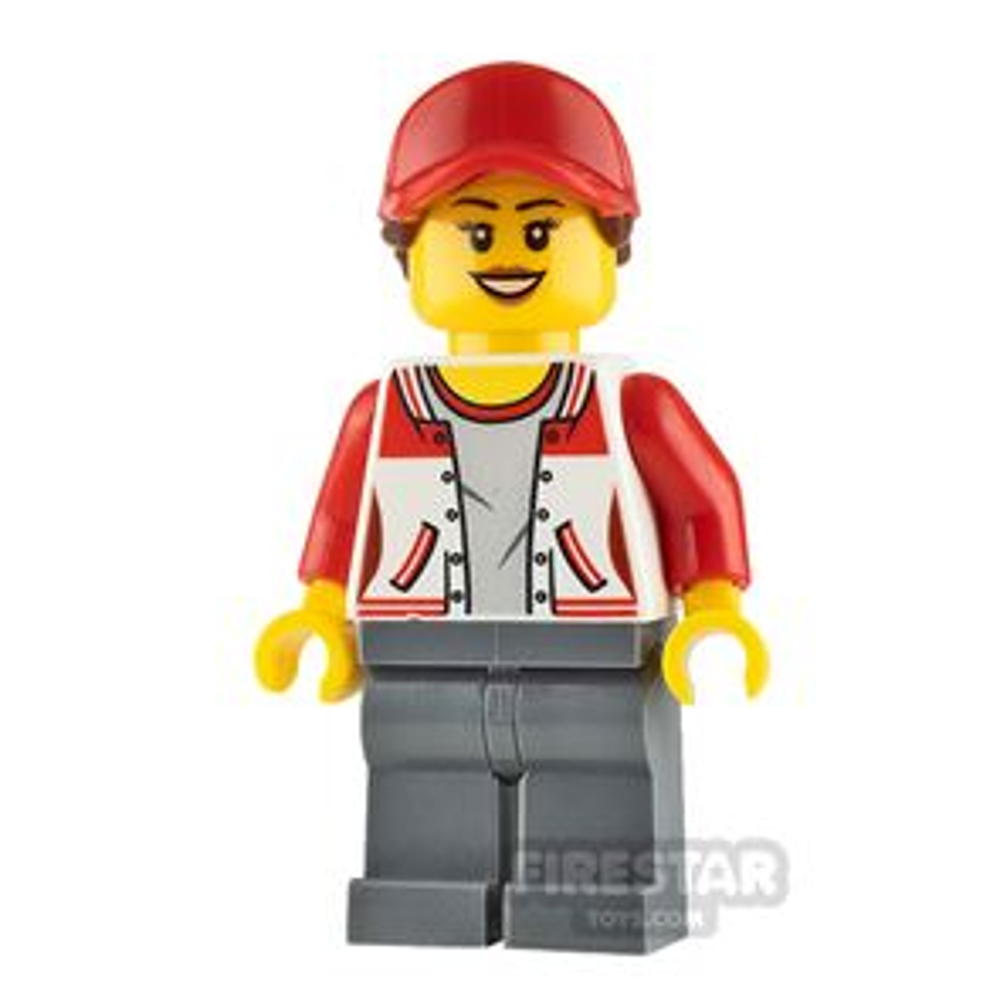 LEGO City Minifigure Kiosk Attendant