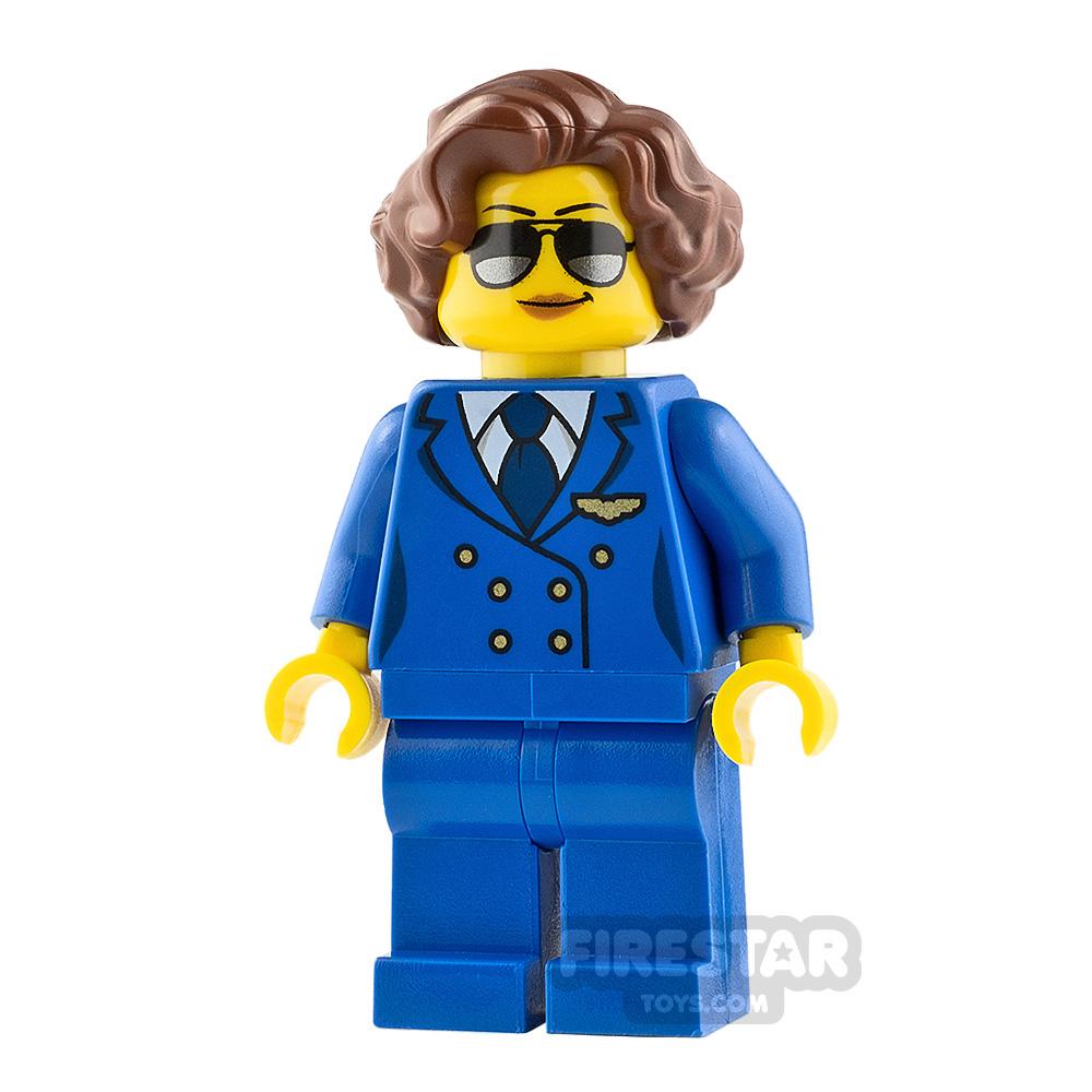 LEGO City Minifigure Female Pilot