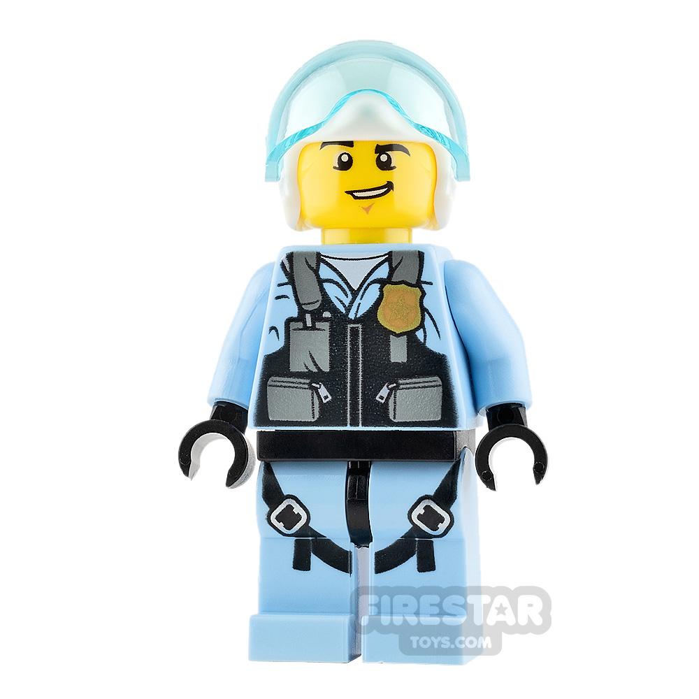 Lego City Minifigure Jet Pilot