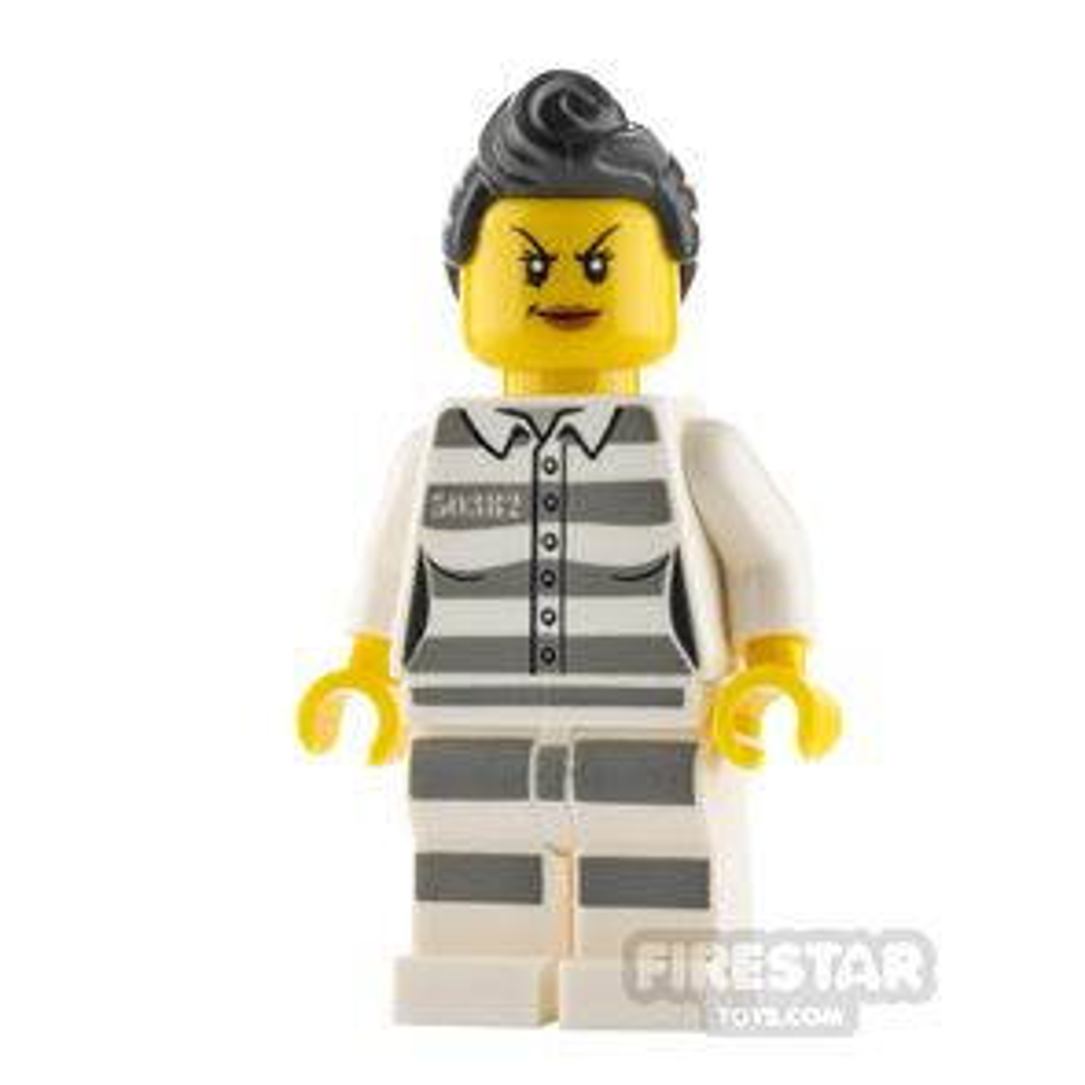 LEGO City Minifigure Jail Prisoner 50382