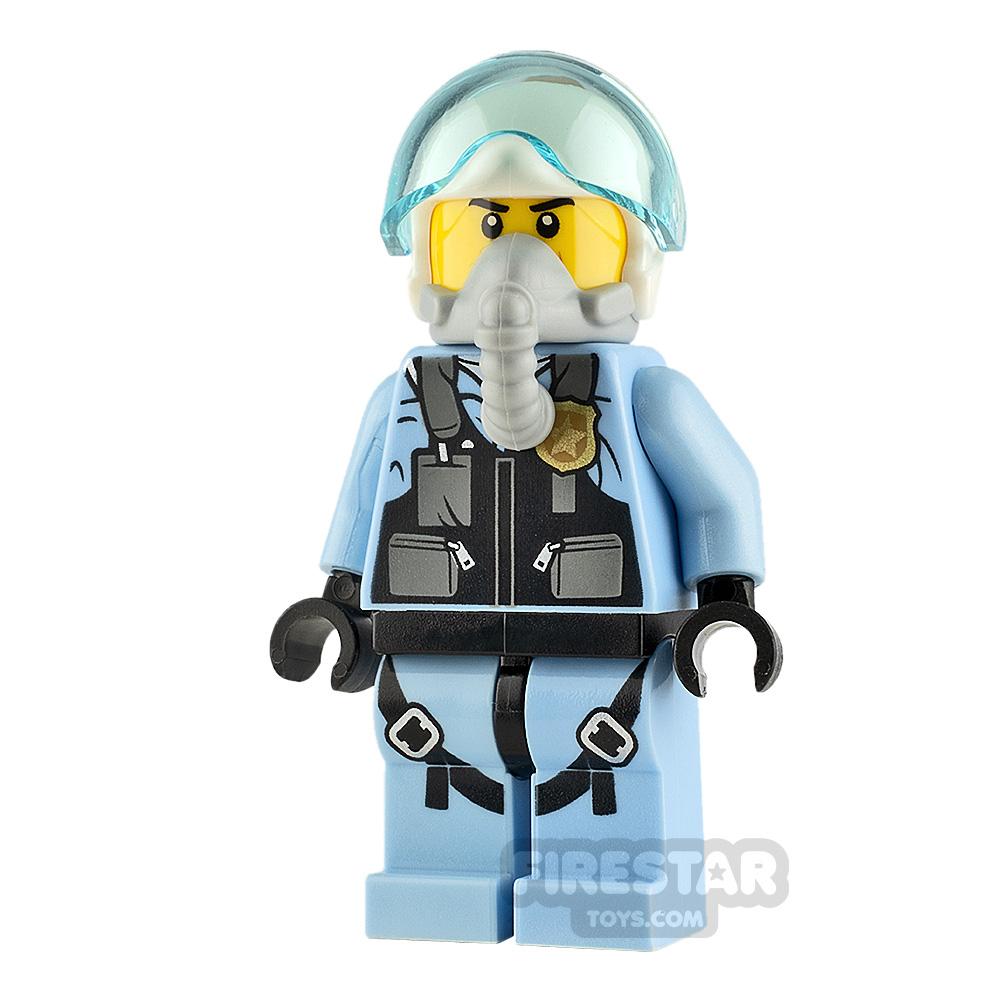 LEGO City Minifigure Pilot with Oxygen Mask
