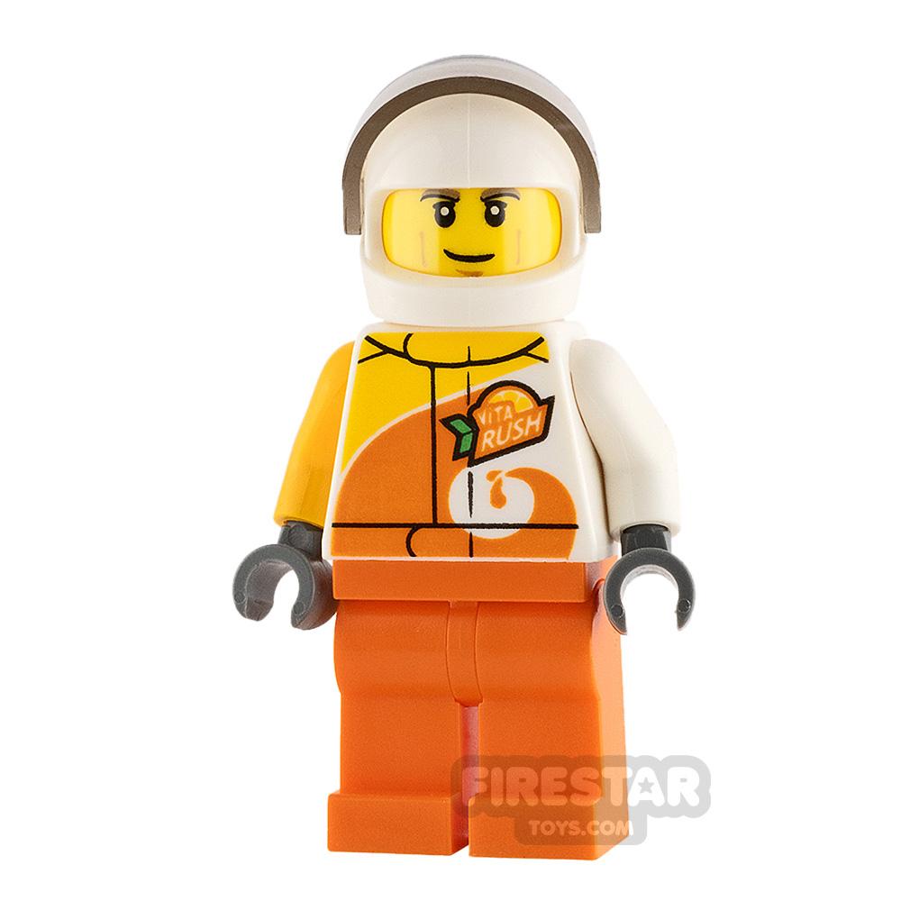 LEGO City Minifigure Desert Rally Racer Driver