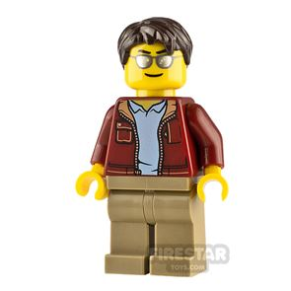 LEGO City Minifigure Truck Driver