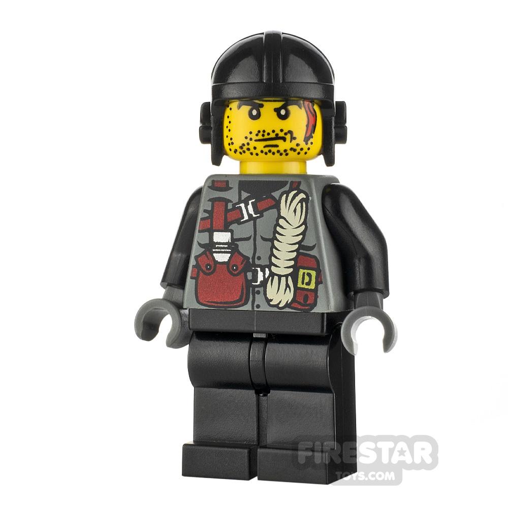 LEGO Dino Attack Minifigure Digger Rope Torso