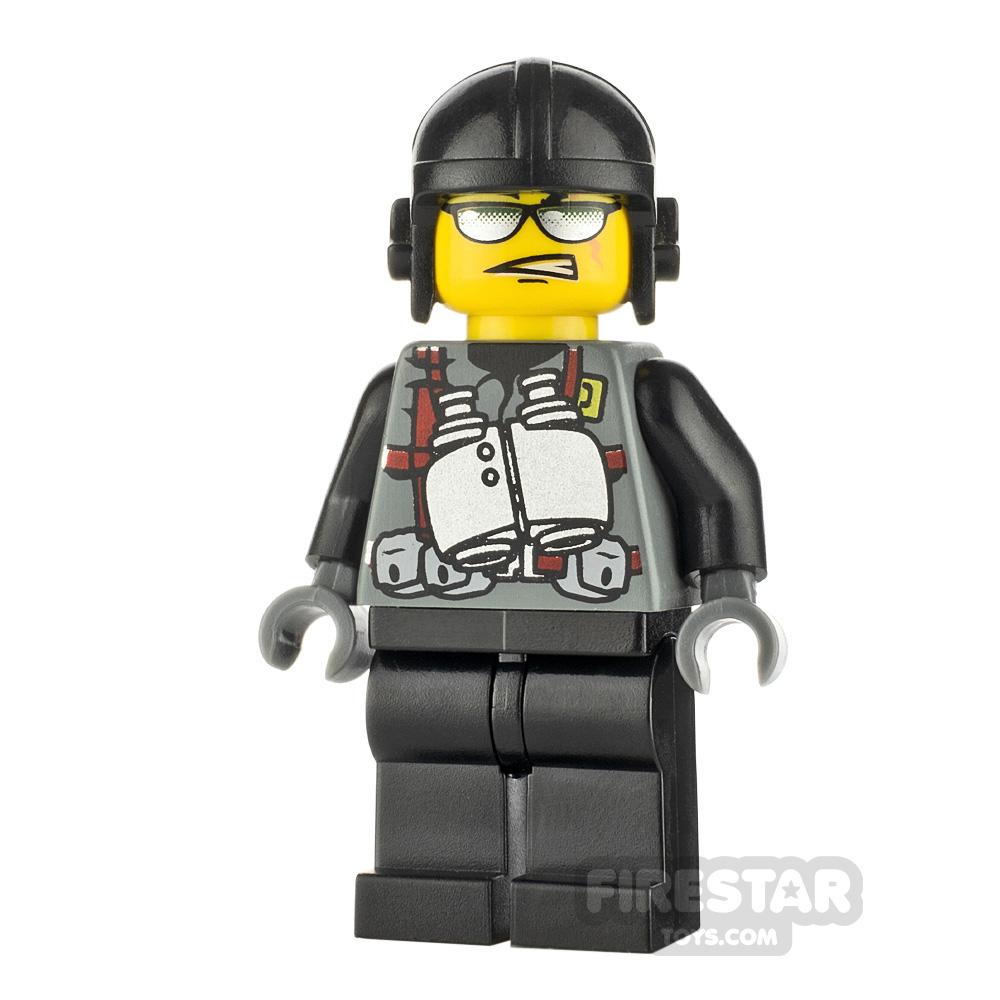 LEGO Dino Attack Minifigure Viper Binoculars Torso