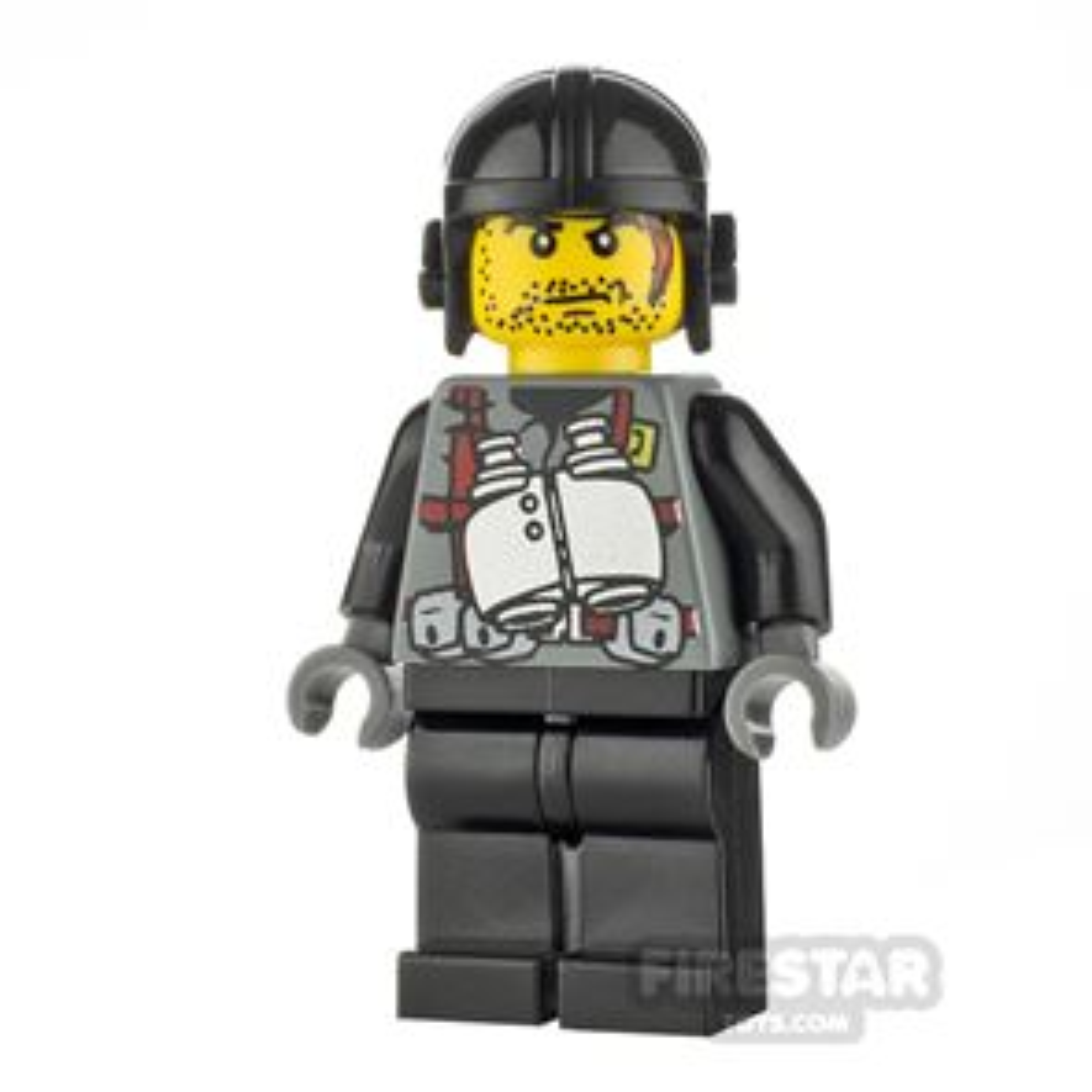 LEGO Dino Attack Minifigure Digger Binoculars Torso