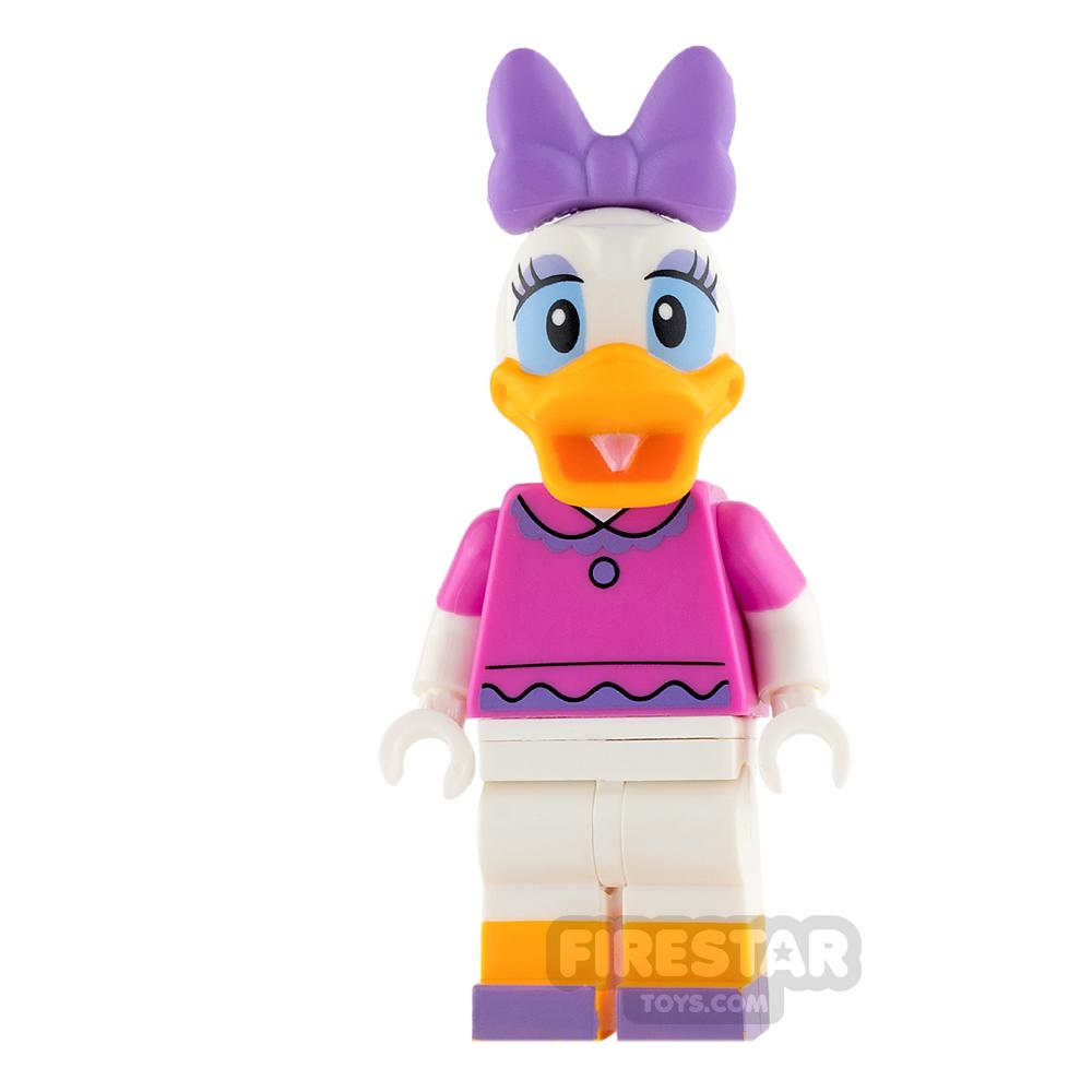 LEGO Disney Princess Mini Figure - Daisy Duck - Dark Pink Top