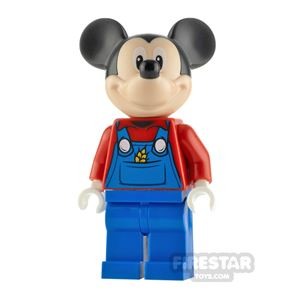 LEGO Disney Minifigure Mickey Mouse Red Top