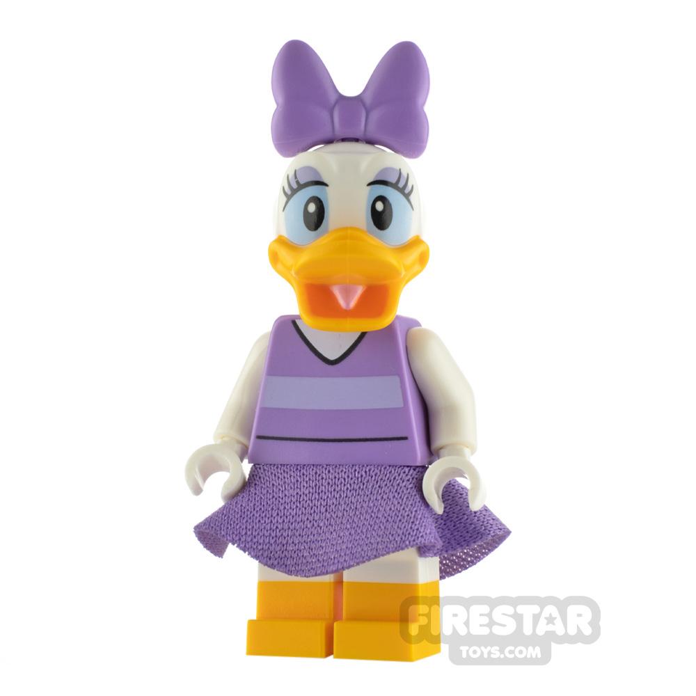 LEGO Disney Minifigure Daisy Duck Lavender Top