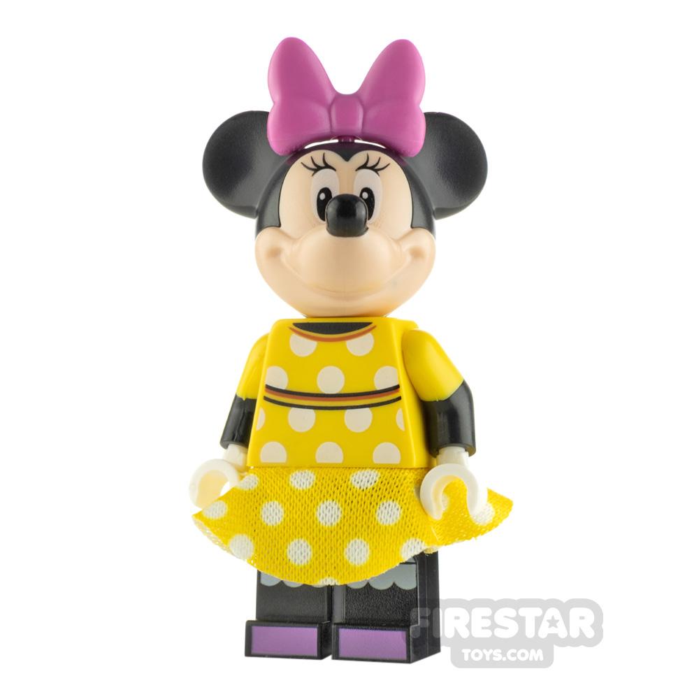 LEGO Disney Minifigure Minnie Mouse Yellow Dress