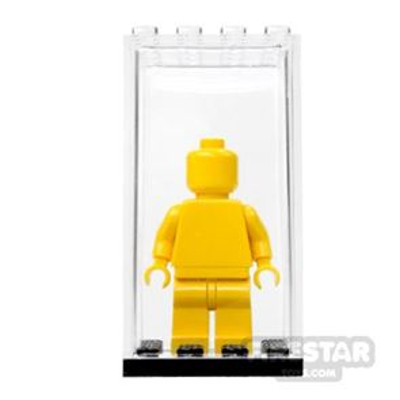 Minifigure Display Case - Black Base