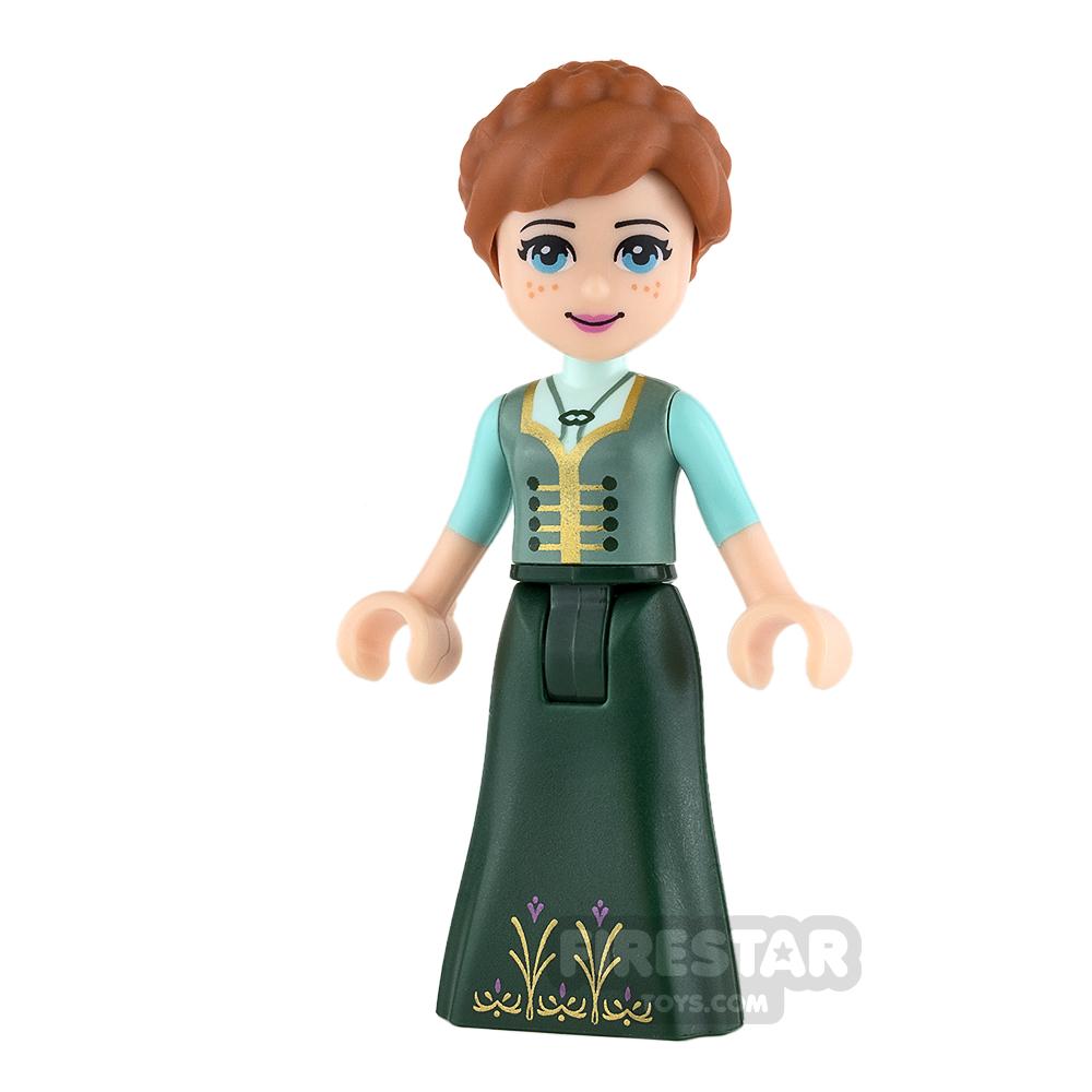 LEGO Disney Princess Mini Figure - Frozen - Anna - Sand Green Top