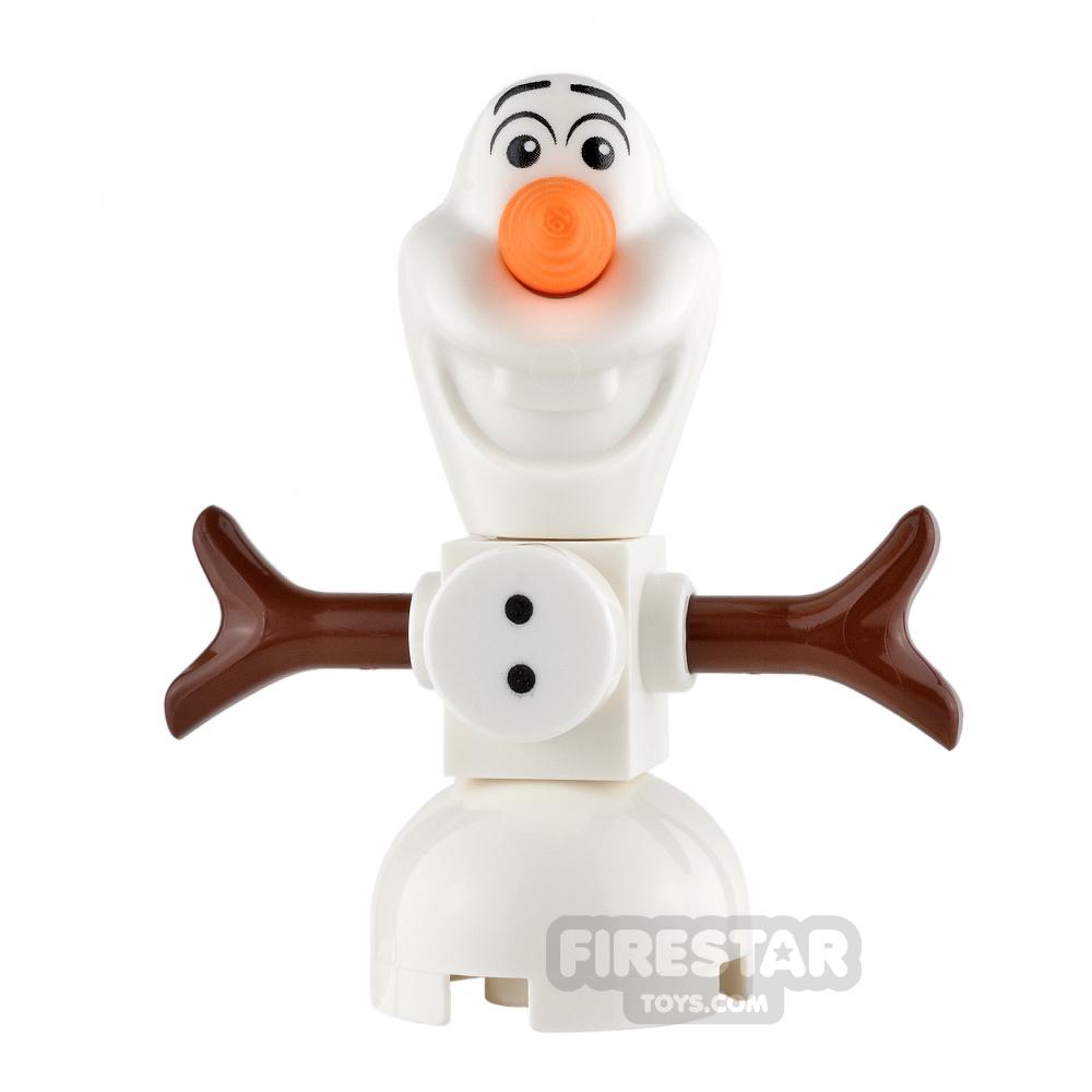 LEGO Disney Princess Mini Figure - Frozen - Olaf - Buttons