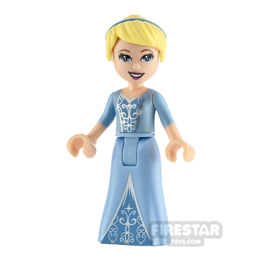 LEGO Disney Princess Minifigure Cinderella Two-Colorued Dress
