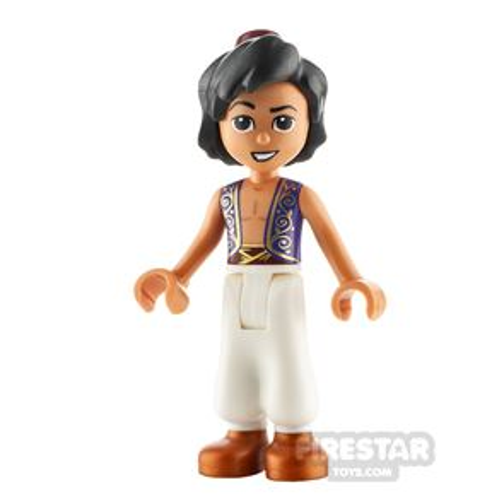 LEGO Disney Princess Minifigure Aladdin Gold Filigree