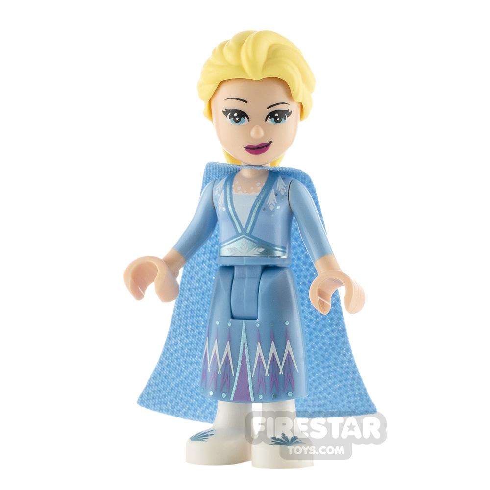 LEGO Disney Princess Minifigure Frozen Elsa Glitter Cape