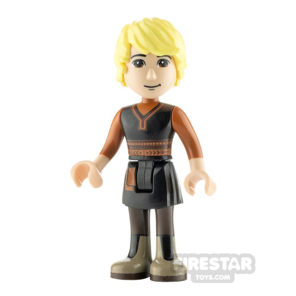 LEGO Disney Princess Minifigure Kristoff Black Tunic