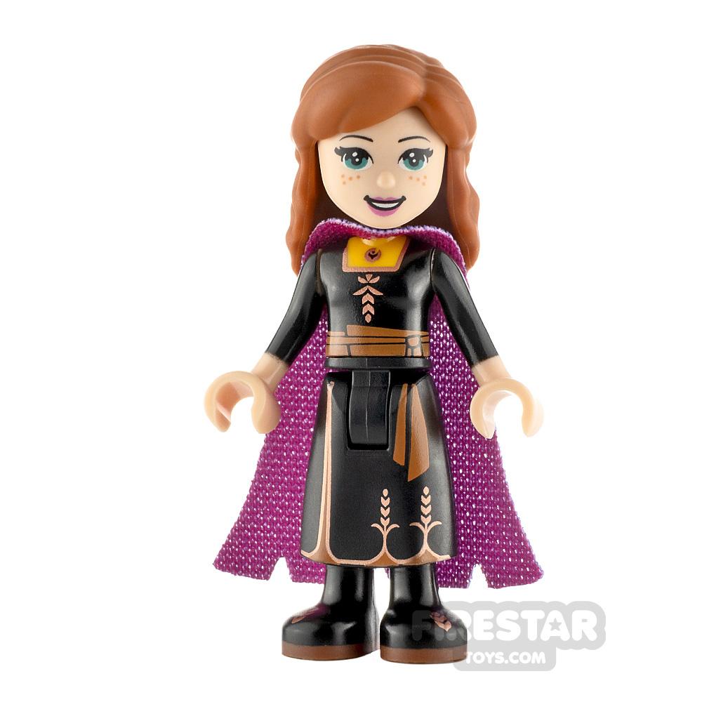 LEGO Disney Princess Minifigure Frozen Anna Black Dress