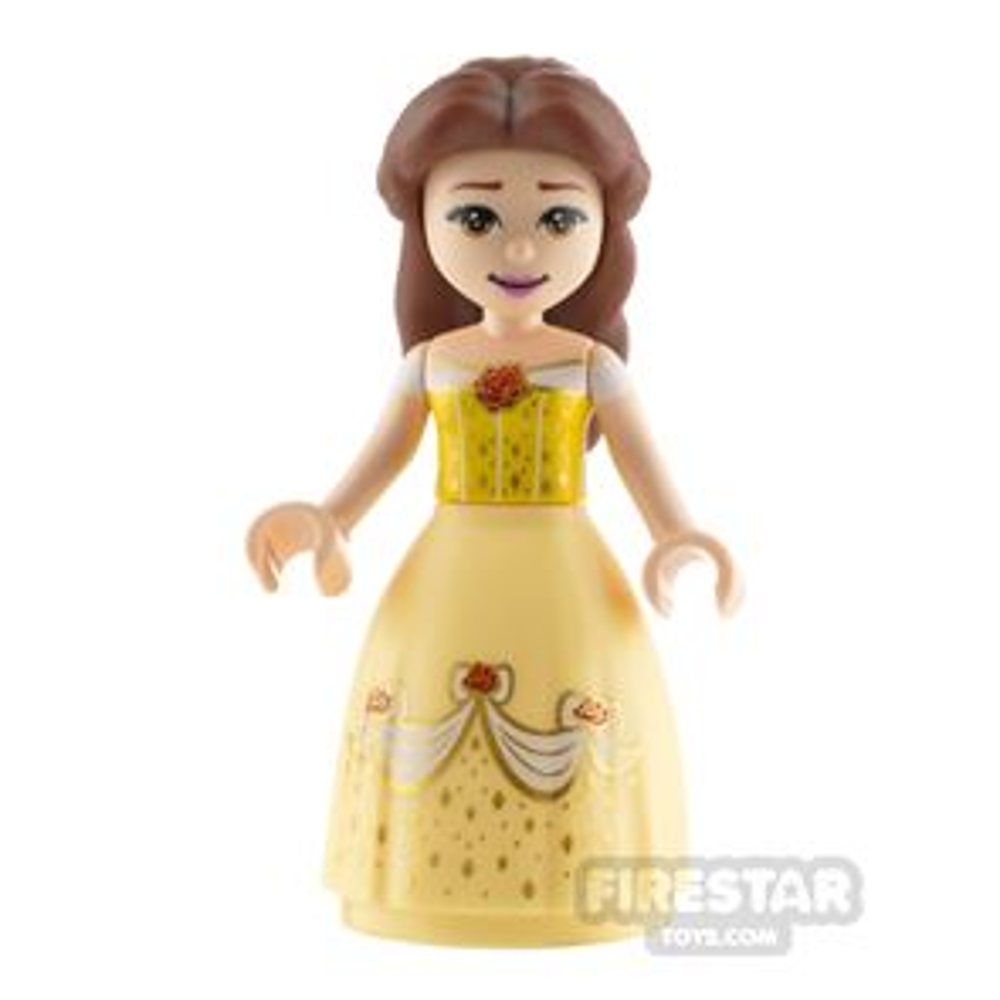 LEGO Disney Princess Minifigure Belle Dress with Roses