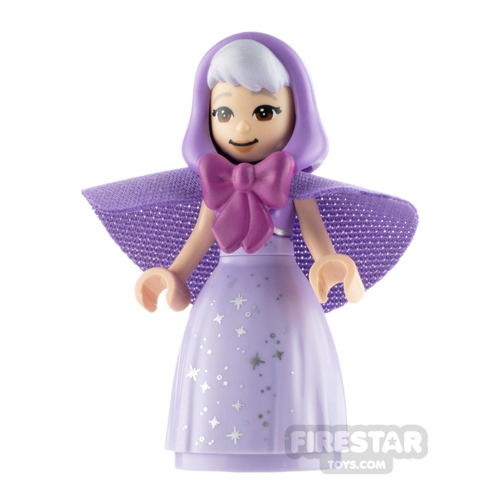 LEGO Disney Princess Minifigure Fairy Godmother Gray Eyebrows