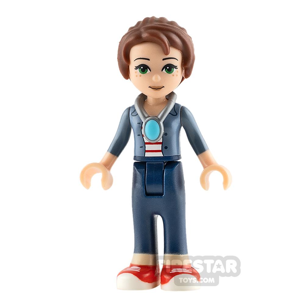 LEGO Elves Mini Figure - Emily Jones - Sand Blue Jacket