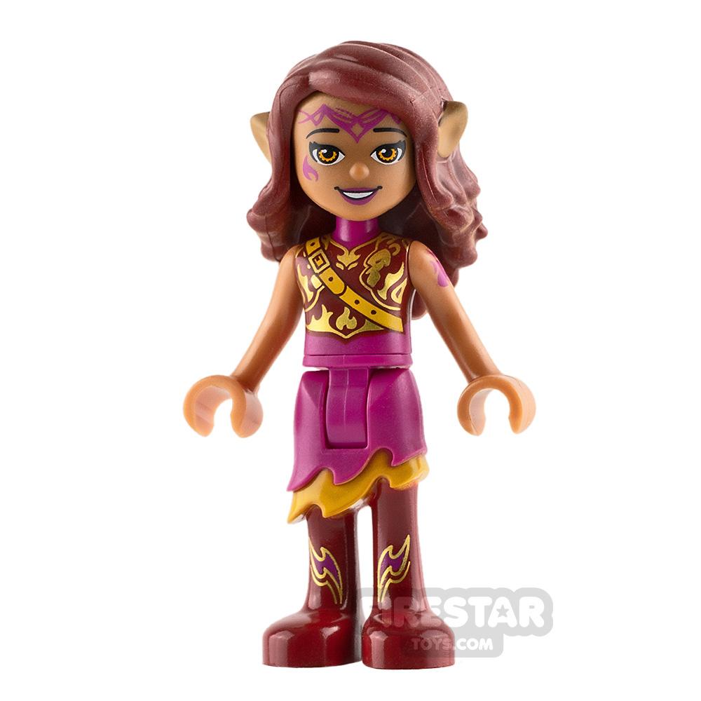LEGO Elves Mini Figure - Azari Firedancer - Armoured Top