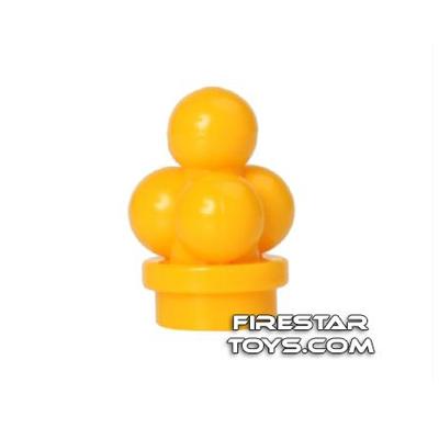 LEGO - Ice Cream Scoops - Bright Light Orange