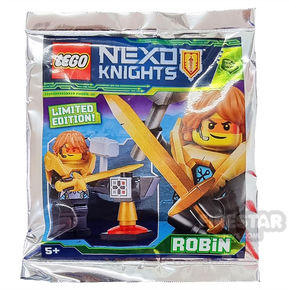 LEGO Nexo Knights 271824 Foil Pack Robin