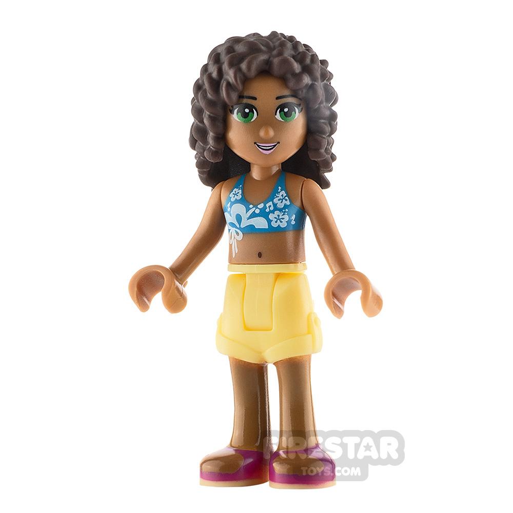 LEGO Friends Minifigure Andrea Dark Azure Bikini