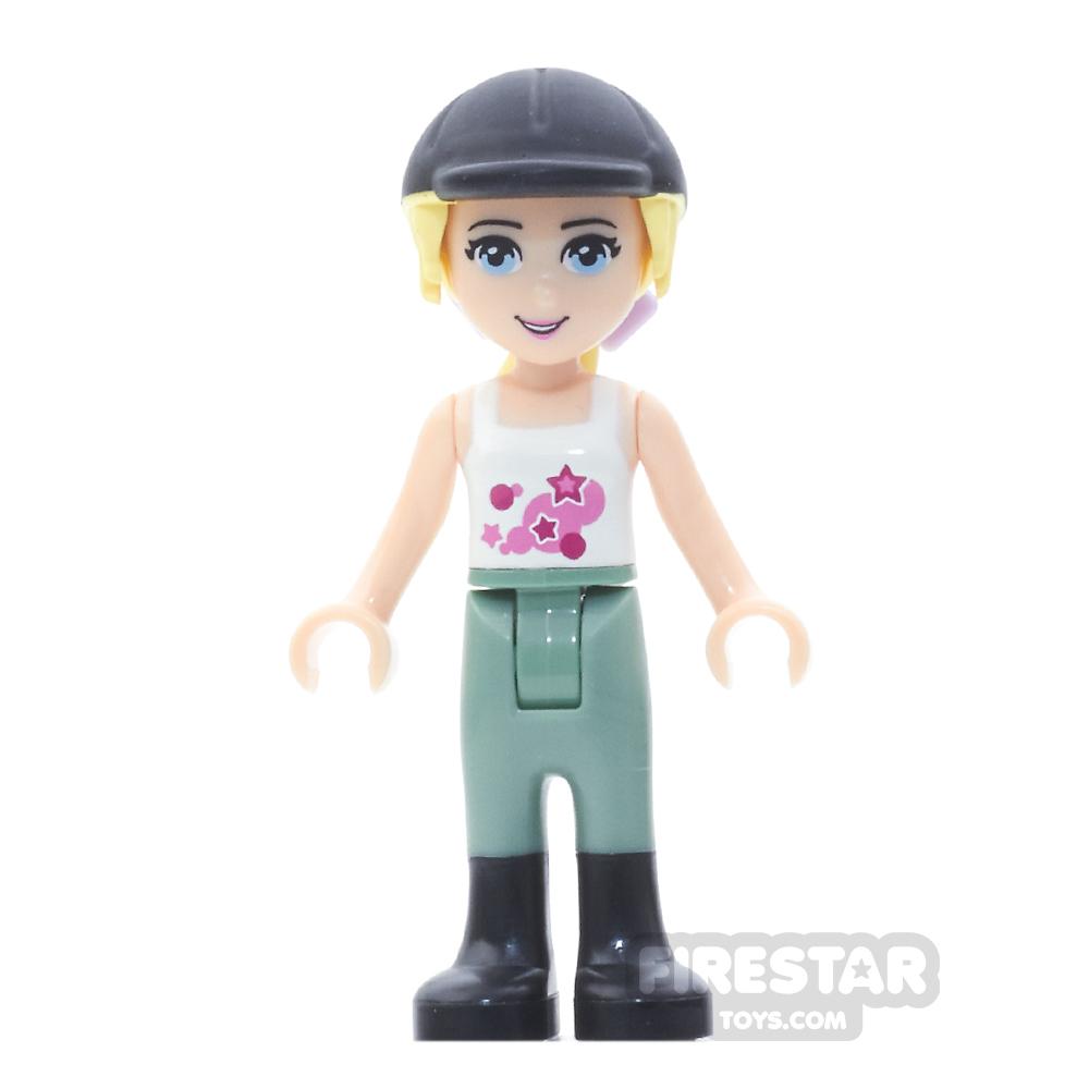 LEGO Friends Mini Figure - Stephanie, Sand Green Riding Pants