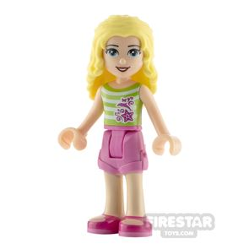 LEGO Friends Minifigure Liza Top with Stripes