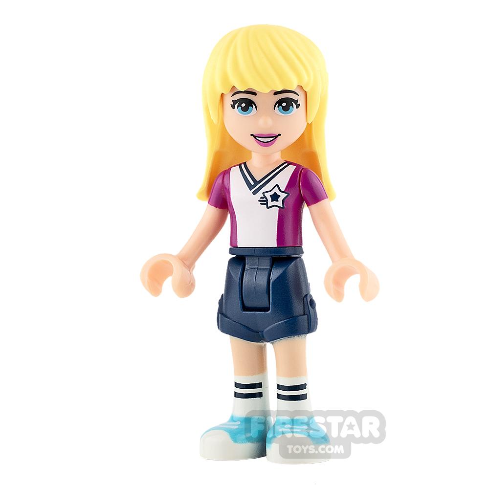 LEGO Friends Mini Figure - Stephanie - Soccer Jersey