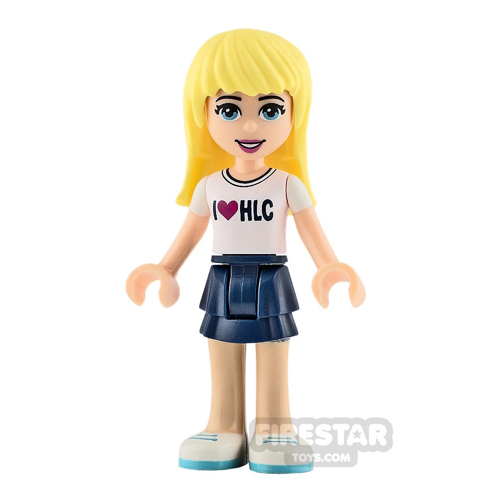 LEGO Friends Minifigure Stephanie I Heart HLC