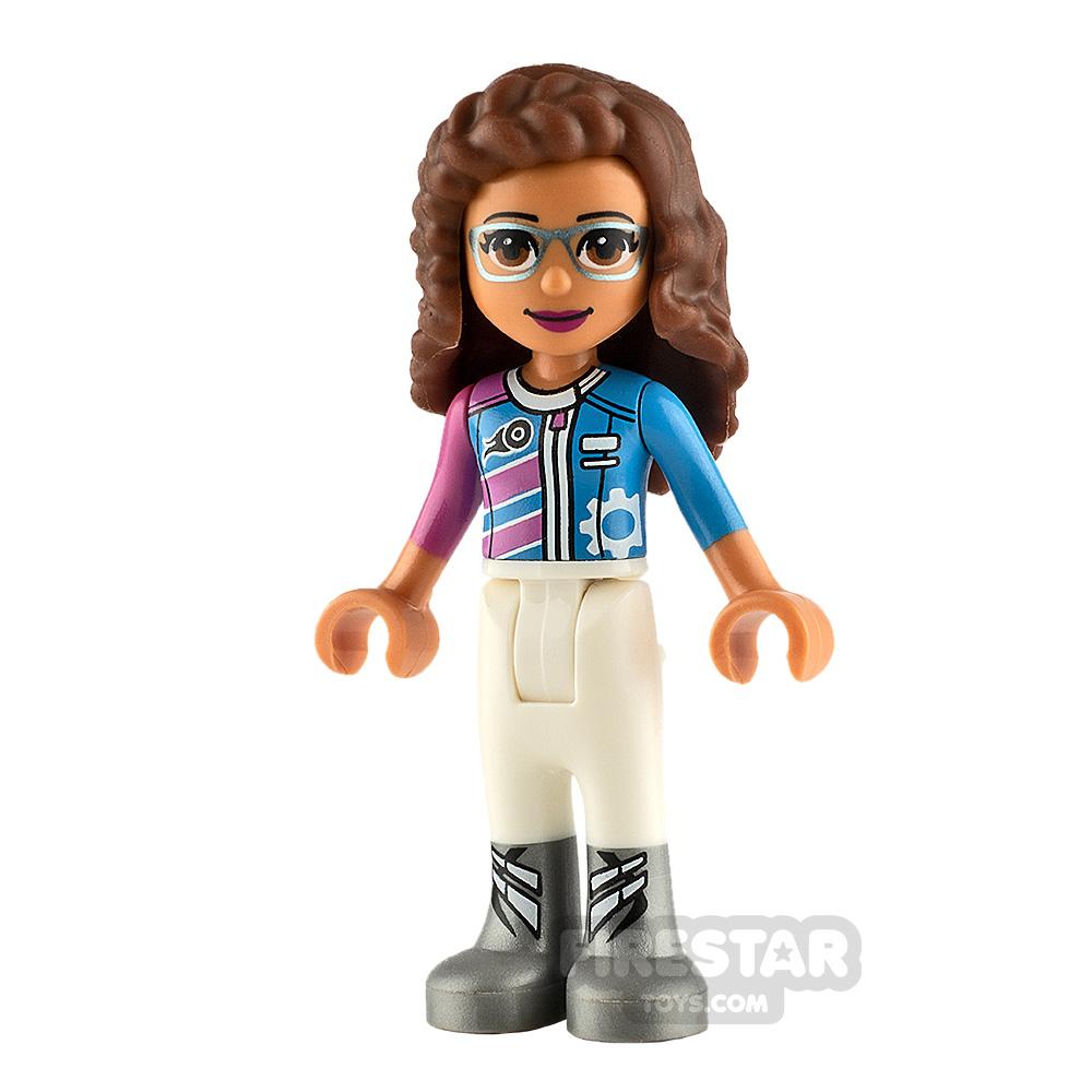 LEGO Friends Mini Figure Olivia Racing Jacket