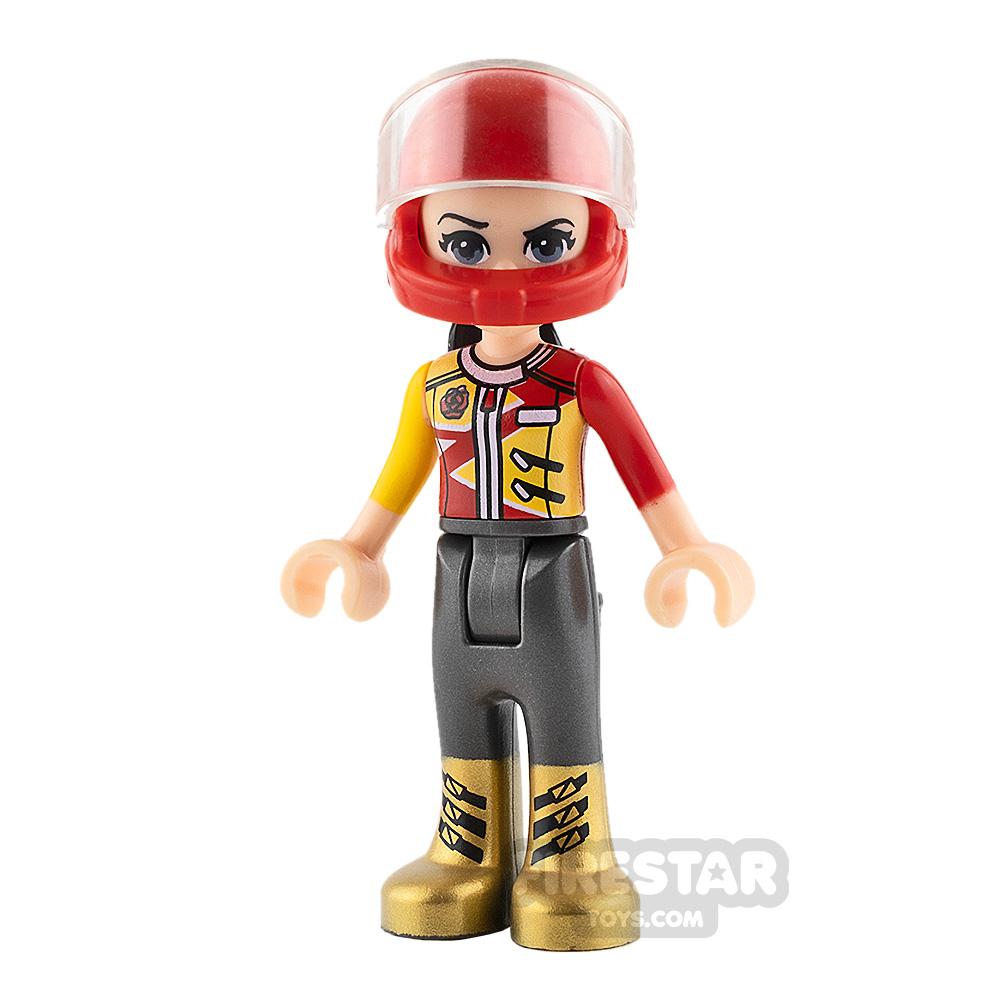 LEGO Friends Mini Figure - Vicky - Red Racing Jacket