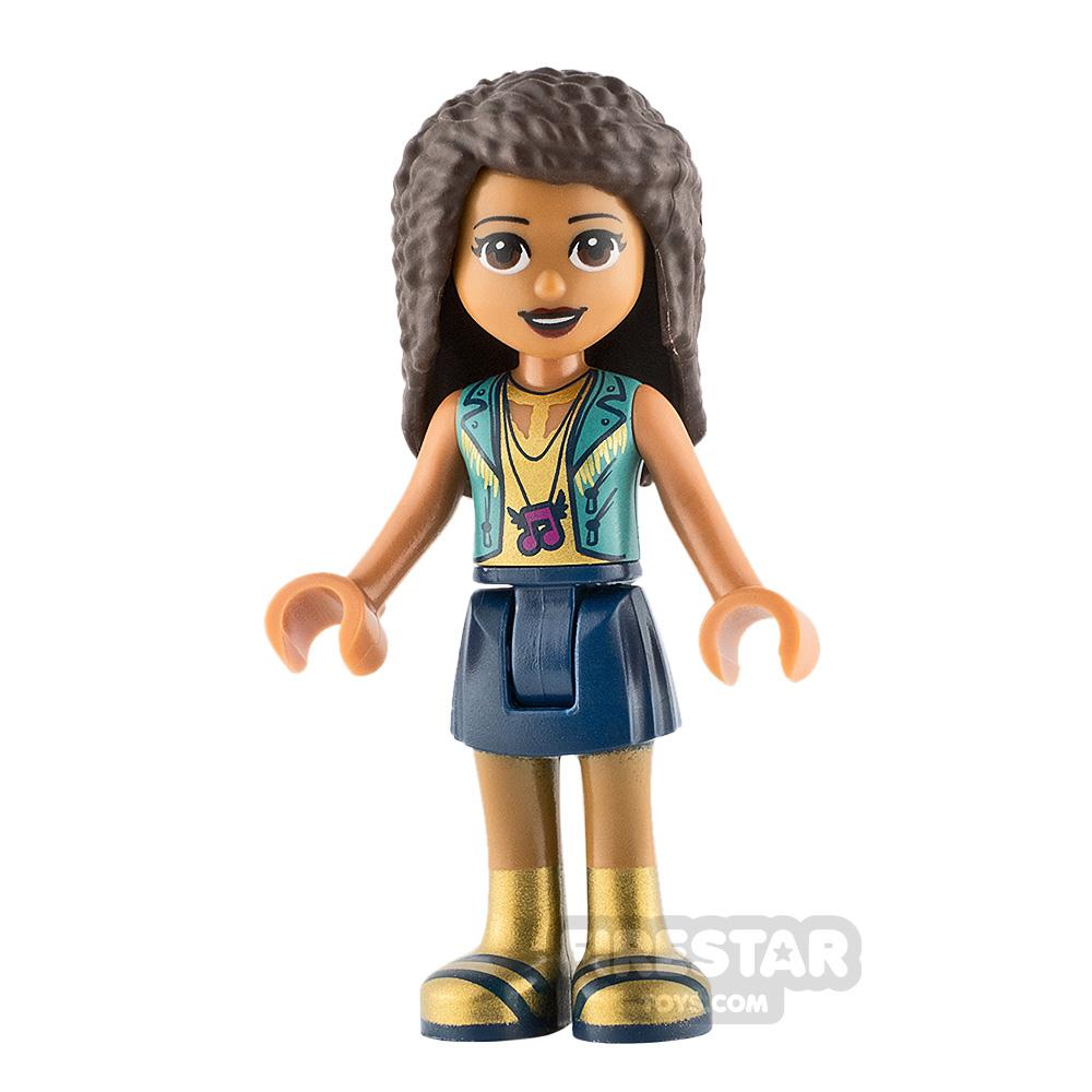 LEGO Friends Minifigure Andrea Gold Top
