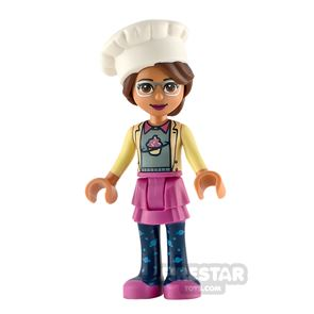 LEGO Friends Minifigure Olivia Chefs Hat