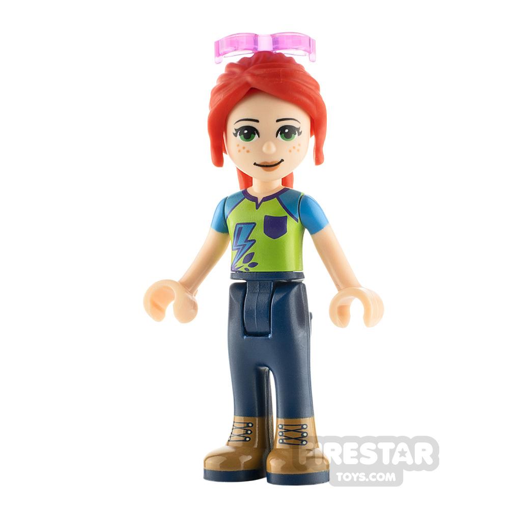 LEGO Friends Minifigure Mia Lime Top