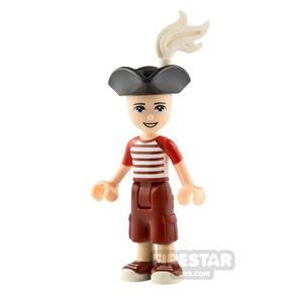 LEGO Friends Minifigure Zack Striped Shirt