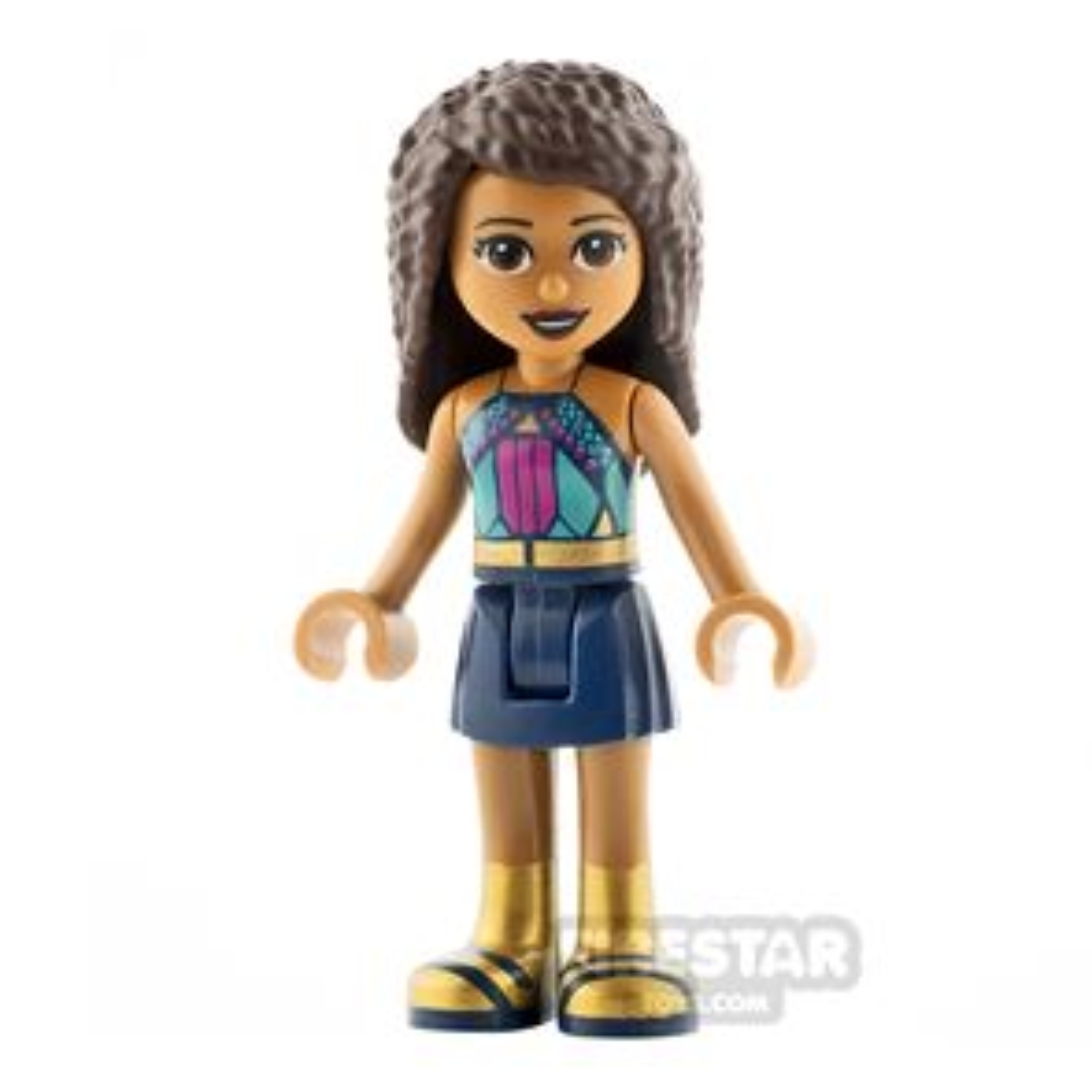 LEGO Friends Minifigure Andrea Gold Boots