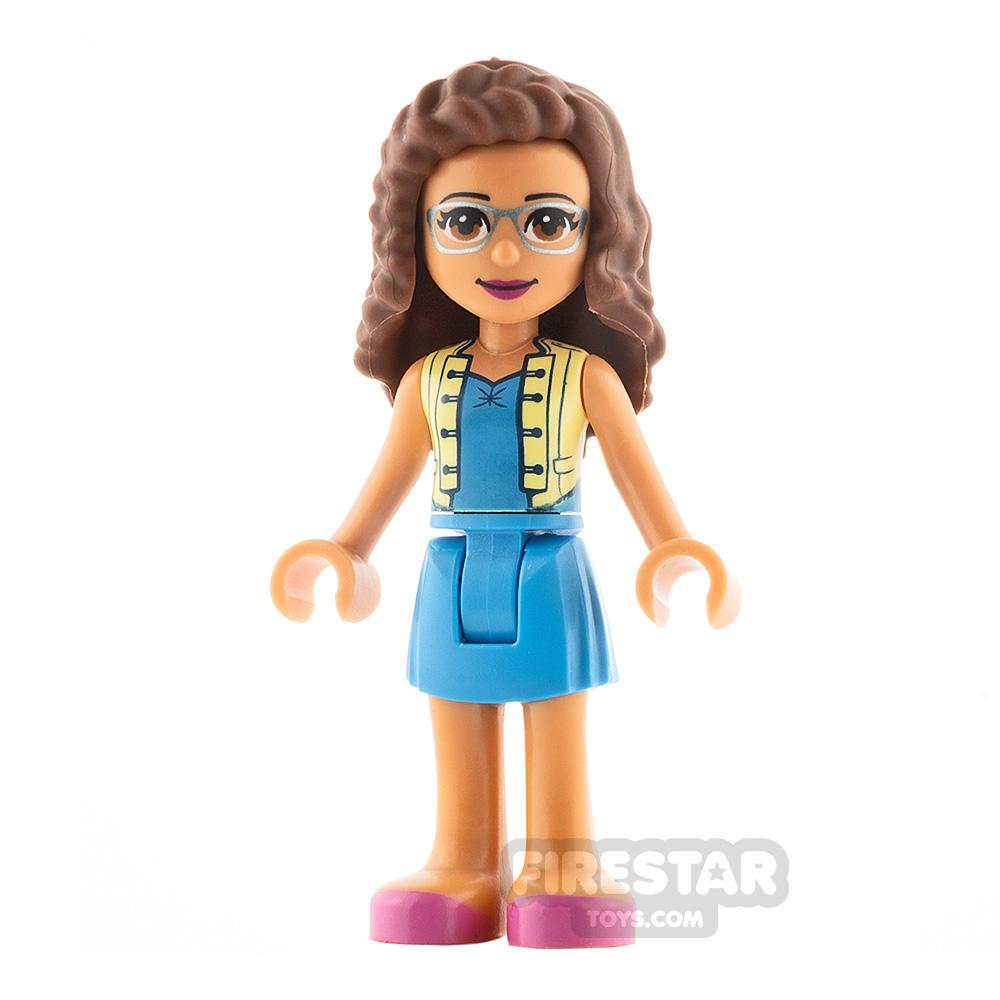 LEGO Friends Minifigure Olivia Yellow Vest