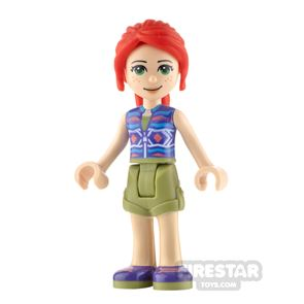LEGO Friends Minifigure Mia Olive Green Shorts